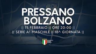 Serie A1M [18^]: Pressano - Bolzano 19-33