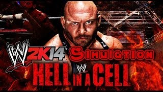 WWE Hell in a Cell 2013 WWE 2K14 Simulation