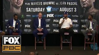 Adam Kownacki & Chris Arreola give predictions on the upcoming fight | PRESS CONFERENCE | PBC ON FOX