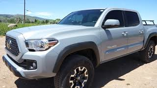 2019 Toyota Tacoma TRD off-road Review