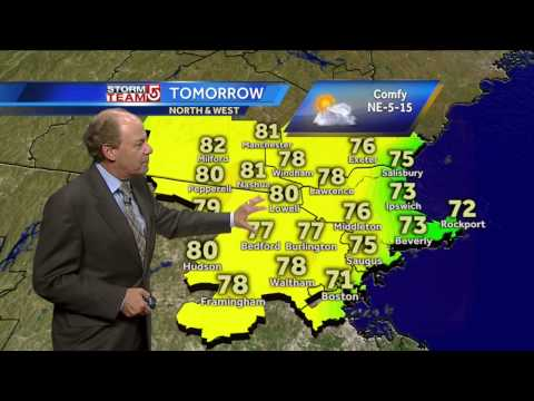 Harvey's latest Boston area forecast