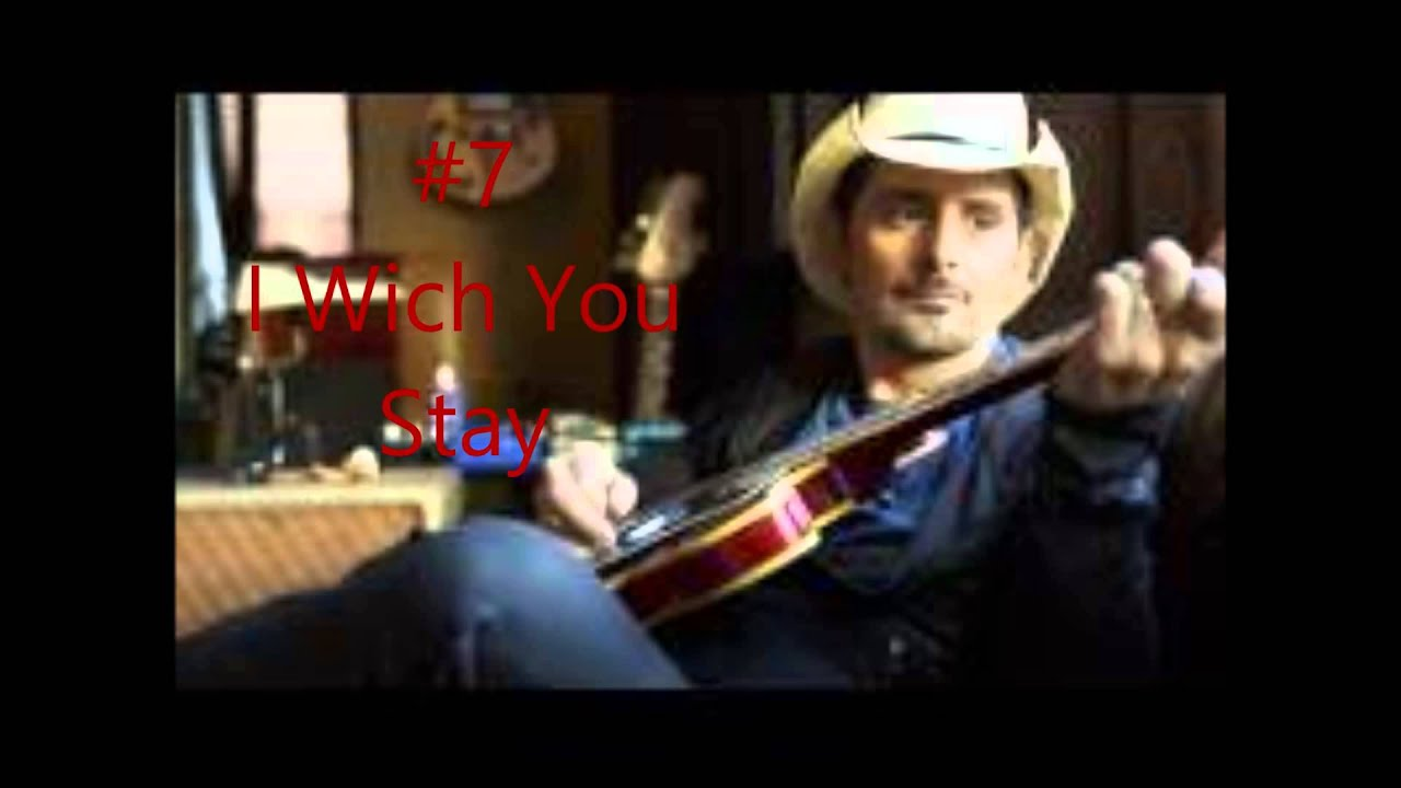 how to play brad paisley songs on guitar