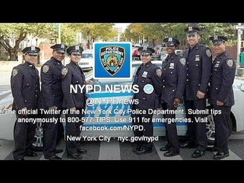 La police new-yorkaise victime de son compte Twitter