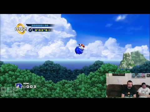 SGC Iron Man of Gaming 2013 Training - Sonic 4 pt3