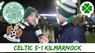 Celtic 5-1 Kilmarnock | Full time Reaction