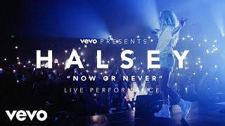 download lagu Halsey - Now Or Never Vevo Presents gratis