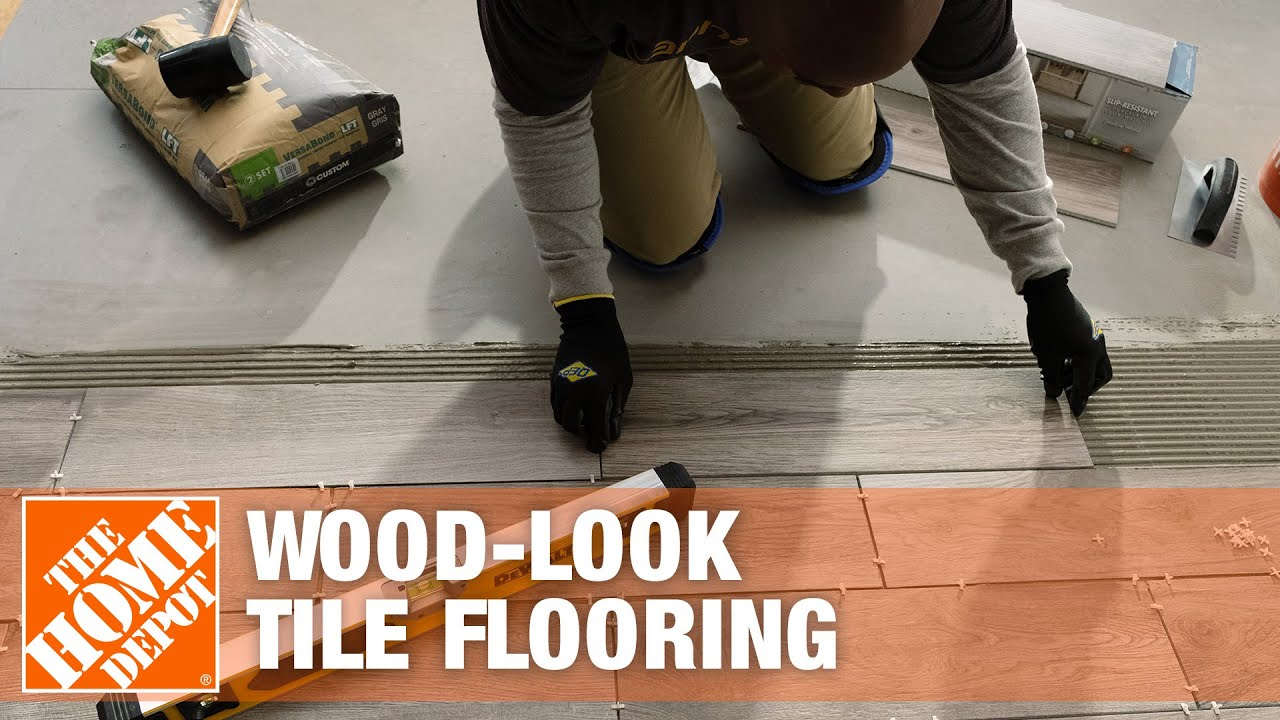 Porcelain Tile That Looks Like Hardwood Flooring Youtube