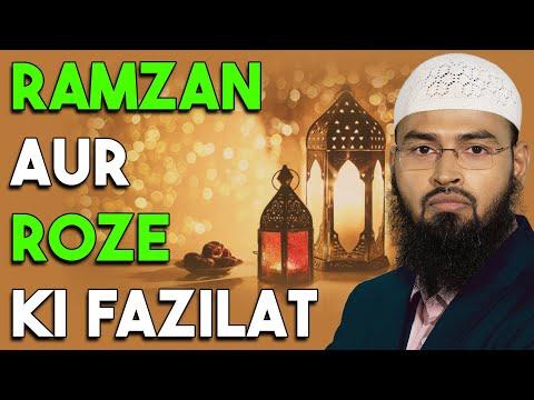 Roze Aur Ramzan Ki Fazilat By Adv. Faiz Syed video