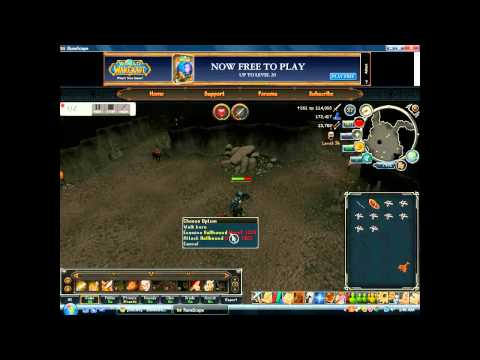 runescape: fast way to train attack and range, opinion on runescape 3