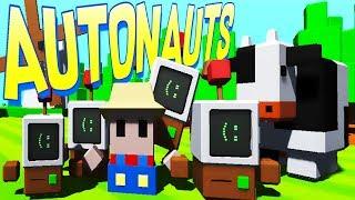 Autonauts - Programming Robot Workerbots! - Autonauts Gameplay - Alpha