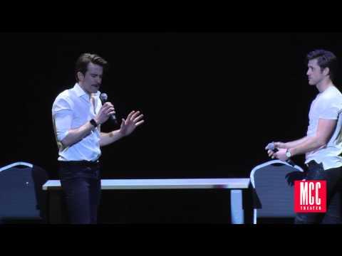 Aaron Tveit and Gavin Creel Sing