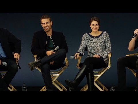 Shailene Woodley & Theo James: Divergent Interview
