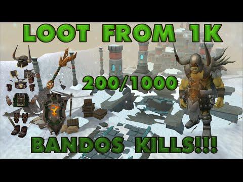 My New Series...200 1000 Bandos Boss Kills video