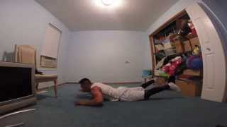 Sally Up Sally Down Push Up Challenge Completed