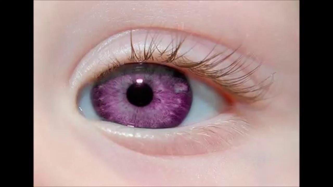 Фото с реальными цветами глаз