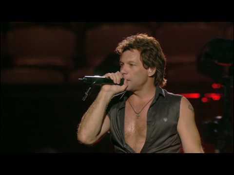 Bon Jovi Born To Be My Baby Live At Madison Square Garden Youtube