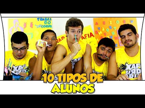 10 TIPOS DE ALUNOS