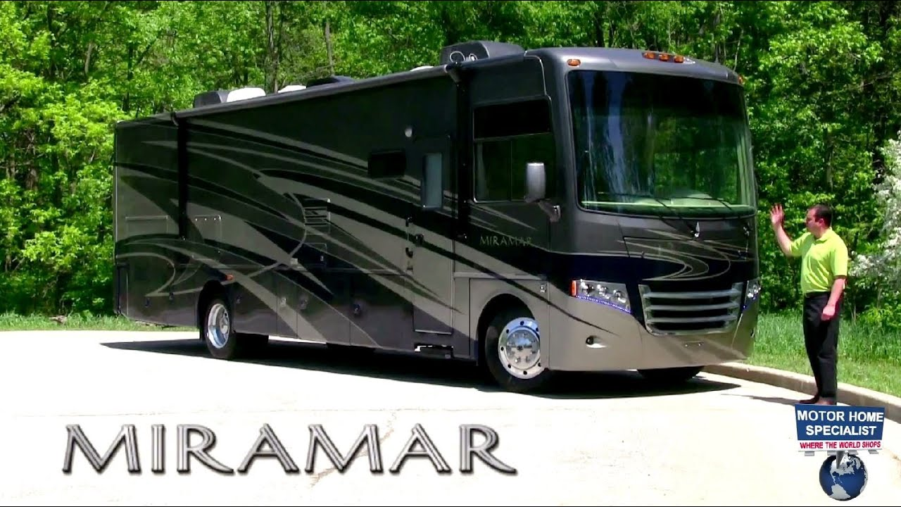 miramar motor home by thor motor coach review at