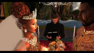 Second Life Wedding Video Scrapbook Mr and Mrs Drabek