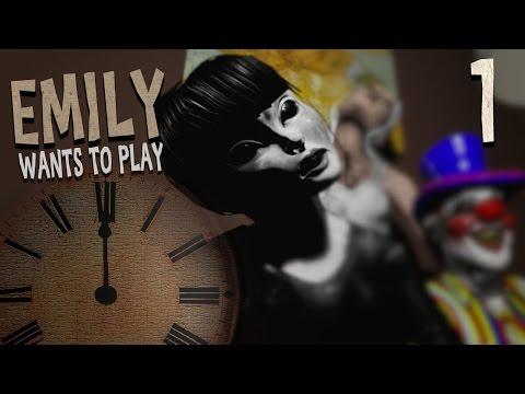 [공포게임]  에밀리는 놀고싶어 #1   (Emily Wants To Play)
