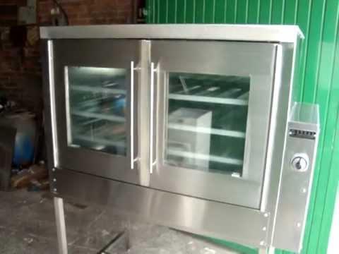 Hornos en acero inoxidable fabricacion especial youtube - Laminas de acero inoxidable para cocinas ...