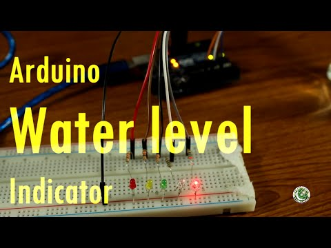 Arduino Tutorial #9 In Urdu, Arduino Water Level Indicator