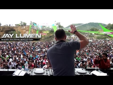 Jay Lumen live at Soul Tech Festival / Mexico / 02-10-2011