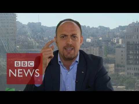 'We haven't got any rockets in West Bank yet Israel kills everyday' - BBC News