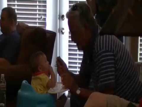 Grandpa Accidentally Eats Boob Milk video