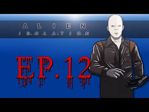 Delirious Plays Alien: Isolation Ep. 12 (Angry androids ever