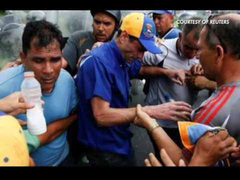 Venezuelans protest new state of emergency   CEEN News   May 18, 2016