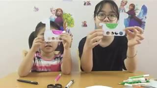 Trò Chơi Chị Kẹo Và Bé Bông Làm Đồ Chơi Con Lạc Đà ♥ Đồ chơi trẻ em ♥ CHIC BONG TV ♥
