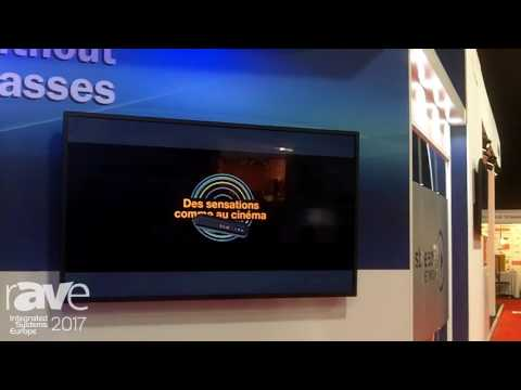 ISE 2017: StreamTV Networks Features 4K 3D Without Glasses
