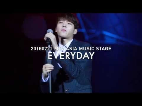 20160721 MTV ASIA MUSIC STAGE --- EVERYDAY