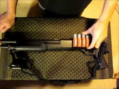 Gold Arrows M183 Airsoft Spring Shotgun review