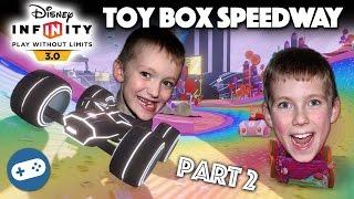 Disney Infinity 3.0 Toy Box Speedway Gameplay Part 2