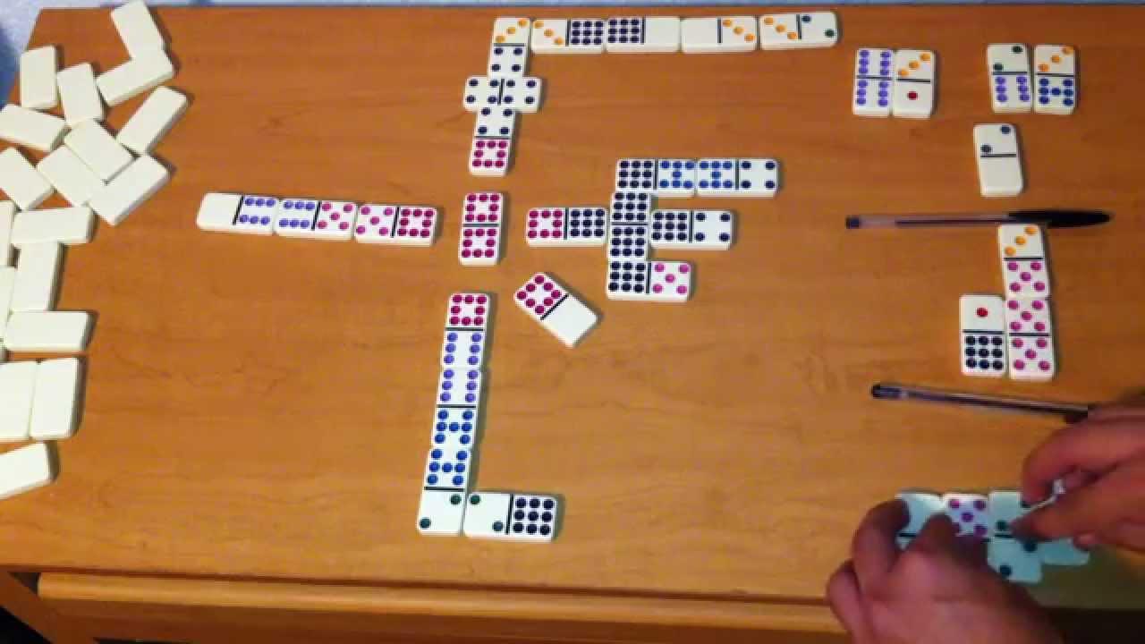 Tutorial para jugar domino cubano o domino doble 9 (Forma