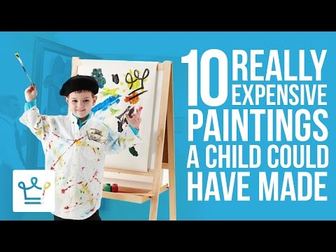 10 Expensive Art Pieces A Child Could Have Made
