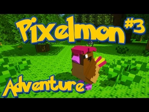 Pixelmon Minecraft Pokemon Mod! Adventure Server Series! Episode 3 - Pidgeotto Evolution