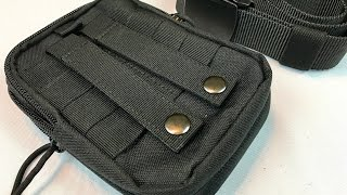 Tactical MOLLE EDC Pouch Case and Nylon Utility Belt by KingMoore - giveaway Oct 15, 2016