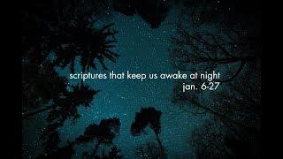Scriptures That Keep Us Awake at Night - Matthew 5:48 - 1.20.19