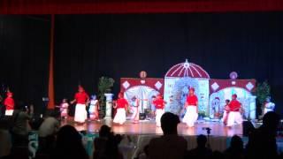 Dhaker Tale Komor Dole - Tampa Puja 2012 Kids Dance