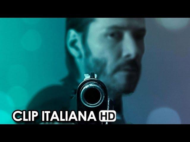 John Wick Clip Italiana 'Scontro a fuoco nel club' (2015) - Keanu Reeves HD