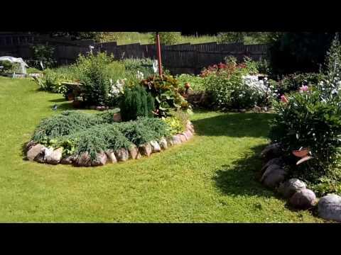 Сад на склоне своими руками – террасирование, отвод воды и растения для него