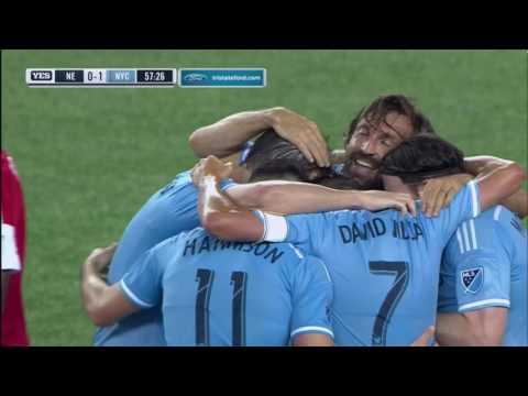 NYCFC Frank Lampard Goal vs NE Revolution.