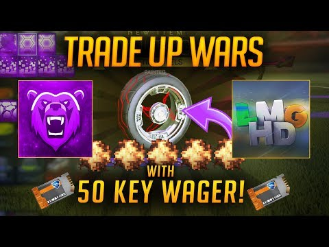 THE BEST TRADE UP WARS EVER! INSANE LUCK! | Rocket League Import Trade ups