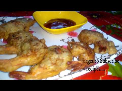 Golden Fried Prawns || Deep Fried Prawns || Prawns Tempura || Prawns Starter Recipe ||