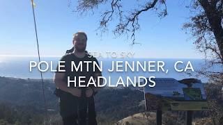 Jenner CA Headlands Preserve Sea to Sky Trail