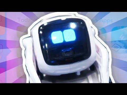 THE WORLD'S CUTEST ROBOT!!!