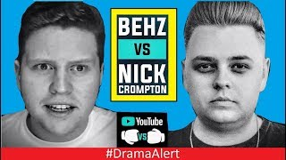 Nick Crompton vs Behzinga Boxing CONFIRMED! (✔) #DramaAlert Fouseytube EXPOSED? Woahhvicky FIRE!